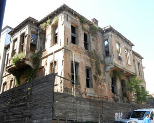 Waiting to be restored in Istanbul