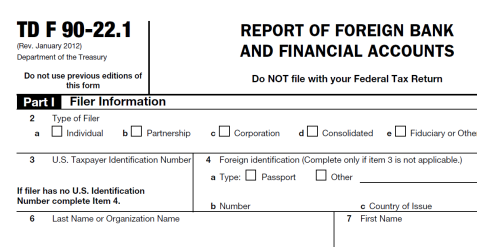 Filing your FBAR tax return in Mexico