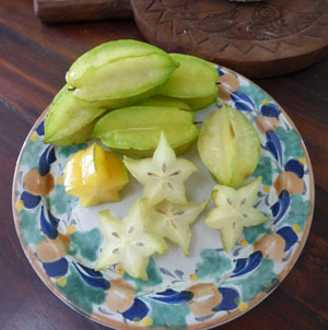 Star fruit surprise in Yucatan