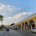 The empty streets of Izamal